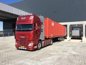 zeecontainer vervoeren